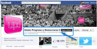 verificación de cuenta en facebook