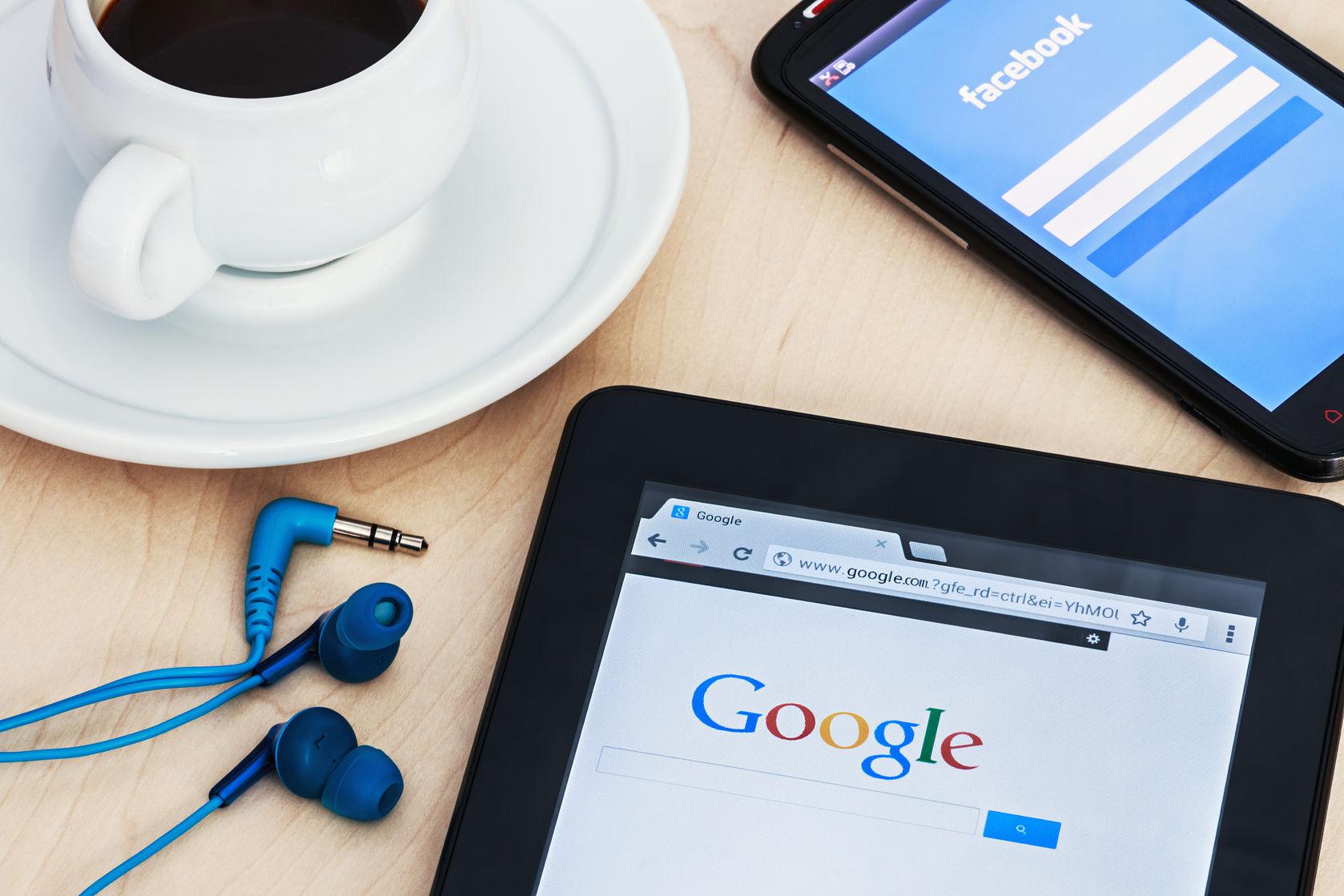 facebook-google-plataformas publicidad
