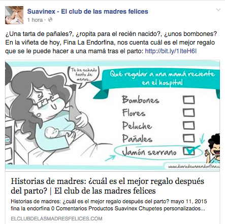 Suavinex, el club de las mamás felices, inbound marketing