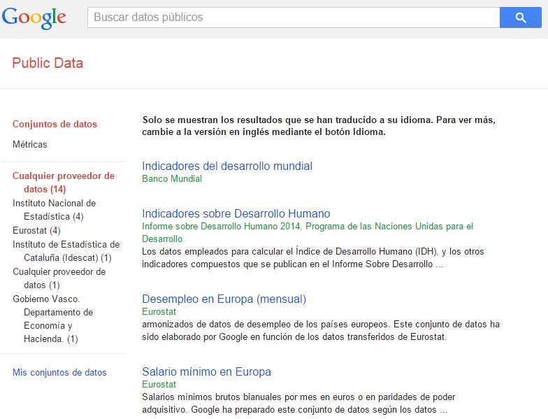 google-public data explorer