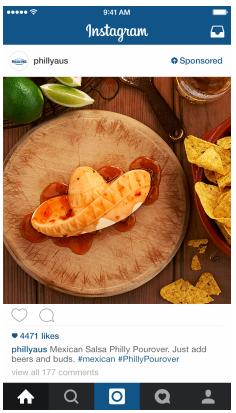 Instagram Ads - Anuncio de Philadelphia
