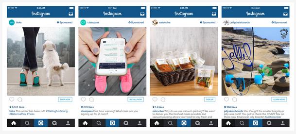 Nuevos anuncios en Instagram