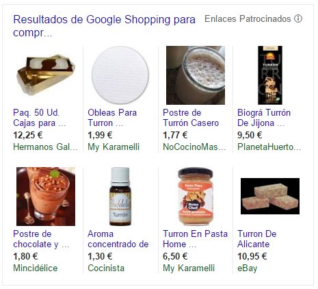 Google Shopping - Navidad
