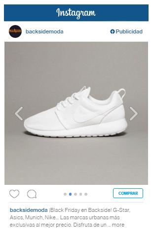 Anuncio en Instagram - Carrusel