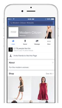 Facebook - Apartado Shop