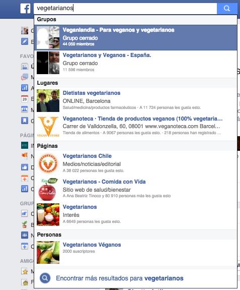 Influencers en Facebook
