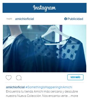 Anuncio en Instagram - Vídeo