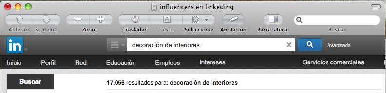 Influencers en Linkedin