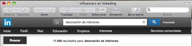 Influencers en Linkedin