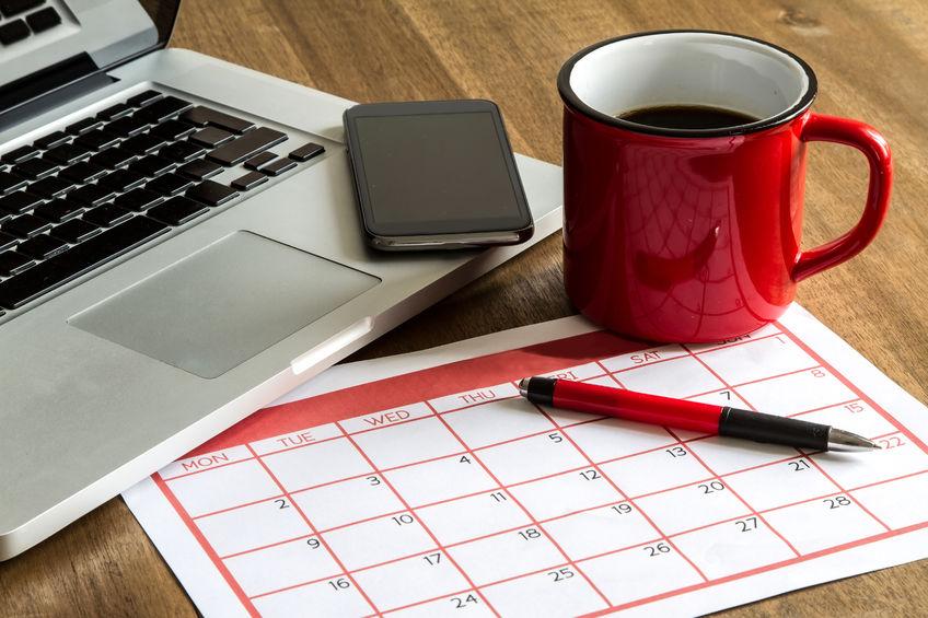 Calendario de contenidos para blog