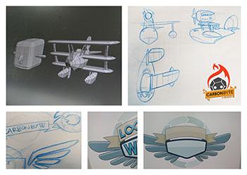 Looping Wings: el videojuego creado en 5 días por Carbonbyte