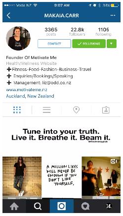 Instagram - Perfil profesional