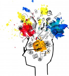 Lluvia de ideas sobre conceptos digitales