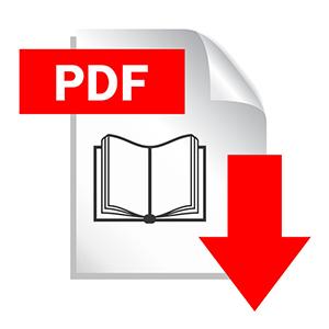 Icono de documento pdf para descargar
