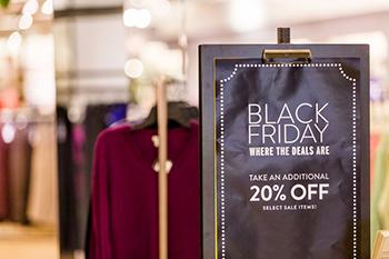 Oferta de Black Friday en tienda