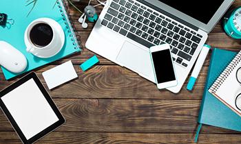 Dispositivos electrónicos y otros elementos de escritorio