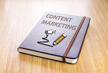 Cuaderno de notas para marketing de contenidos