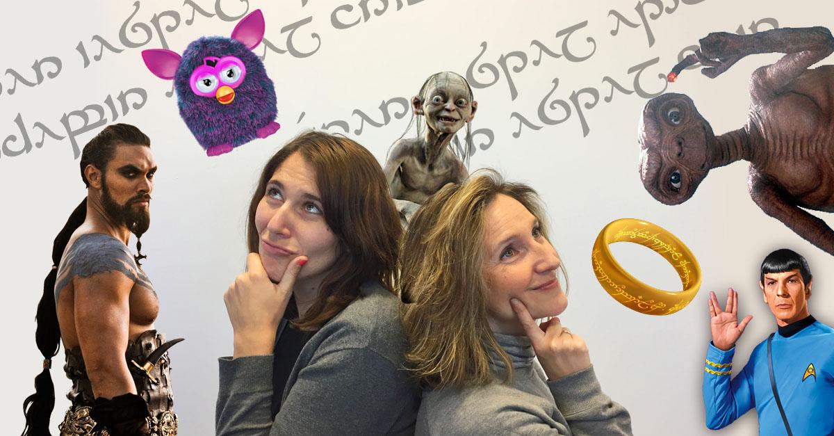 Mara Miguel y Mercedes Martín con sus nuevos copywriters