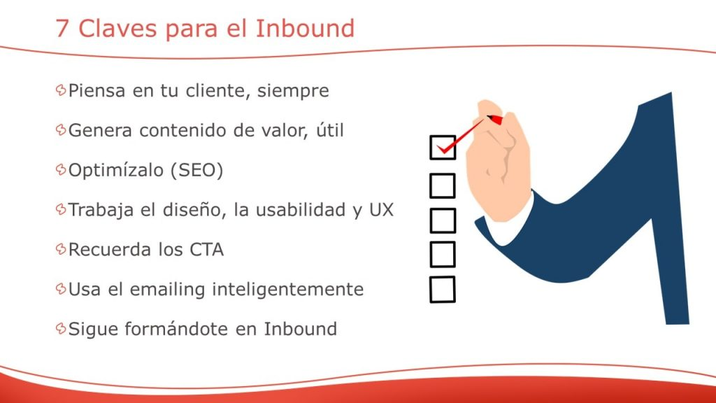 7 claves para desarrollar una buena estratégia de Inbound Marketing