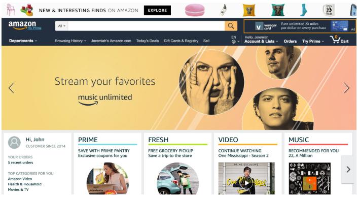 Publicidad en Amazon: Marquee Ads