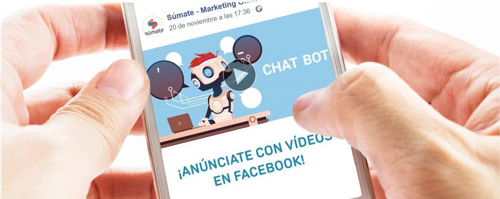 publicidad de vídeo en Facebook