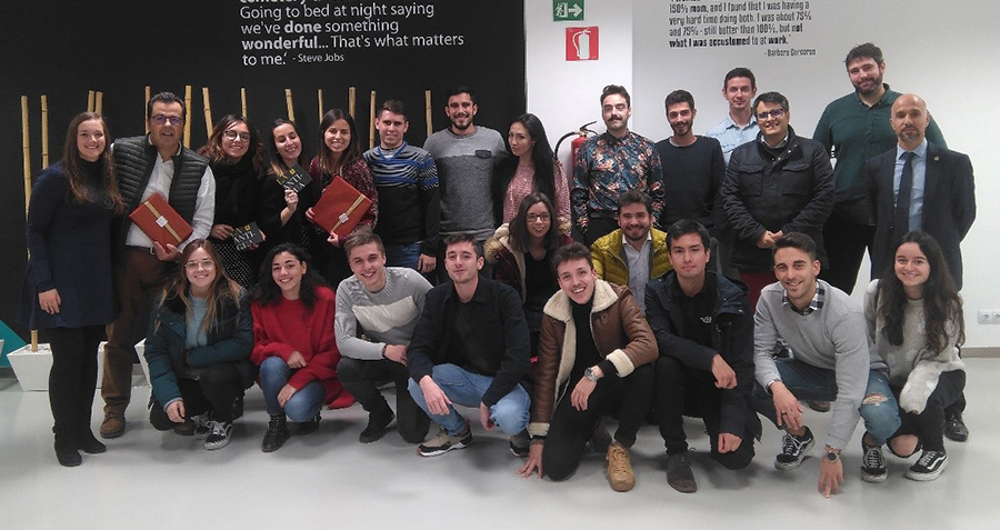 Alumnos del Máster en Marketing Digital 2019 de la USAL y Súmate