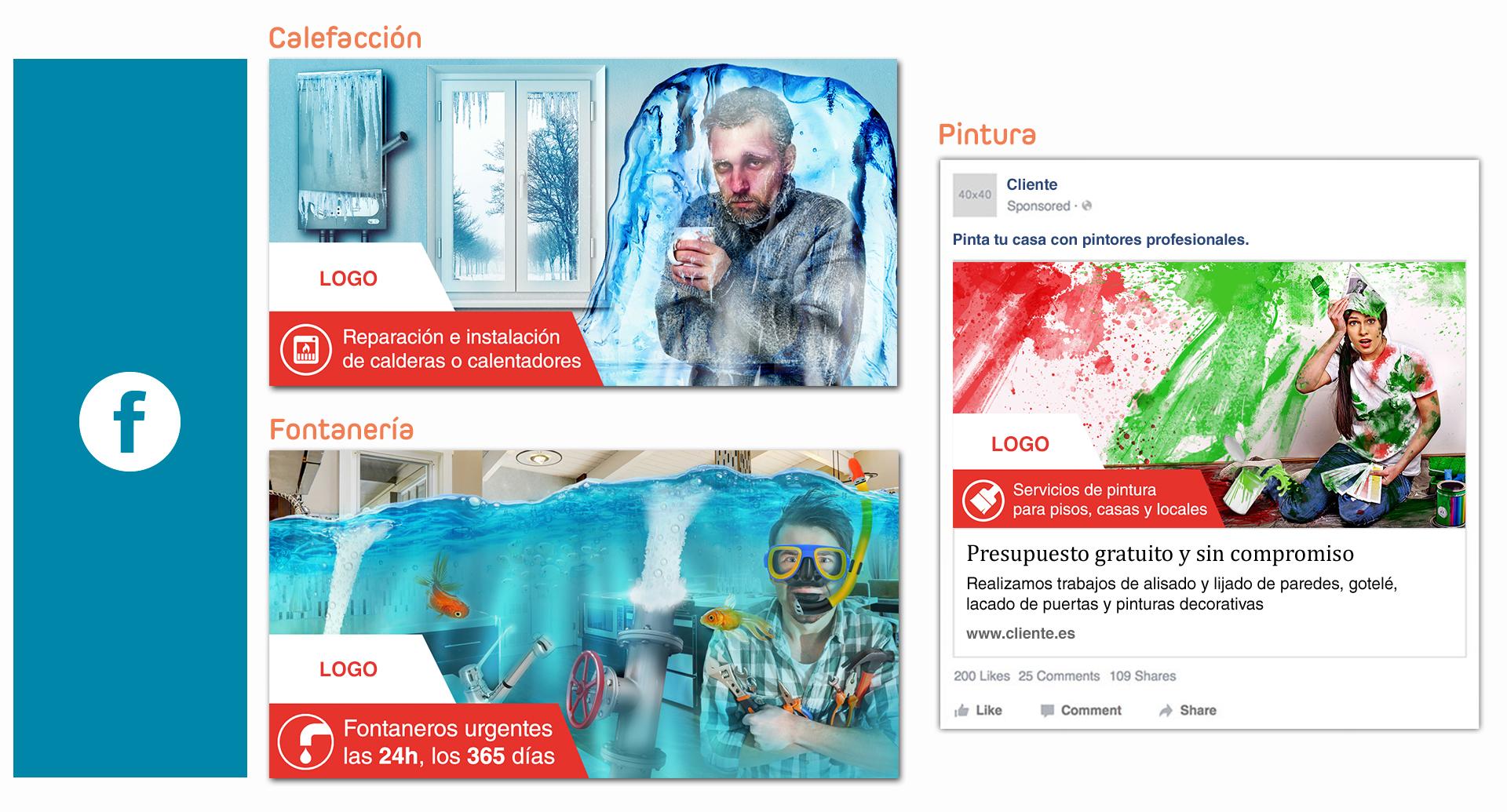Ejemplo de creatividad para Redes Sociales: Facebook Ads