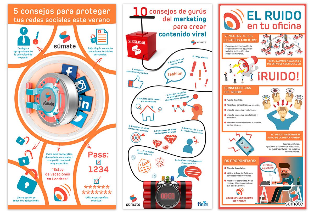 Ejemplo de infografías
