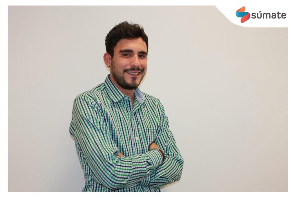 Luis García, alumno de la tercera promoción del Máster en Marketing Digital de la Universidad de Salamanca