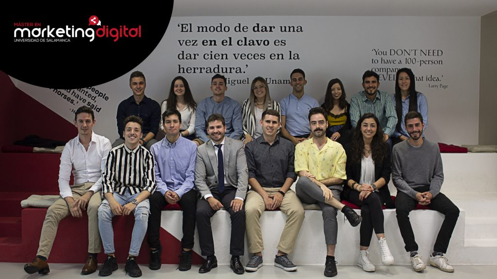 promoción 2019 máster marketing digital 3a edicion universidad de salamanca ime business school fundacion general de la usal sumate agencia digital