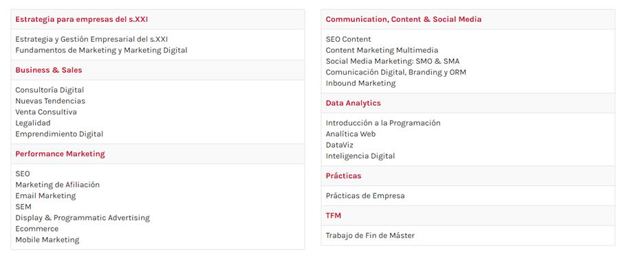 ¿Aún no sabes que Máster hacer? Descubre el de Marketing Digital. -Inscríbete a la 4ªedicion del Master de Marketing Digital.
