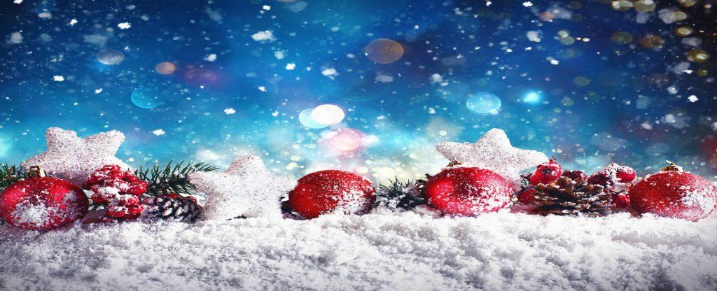 Adornos de marketing para navidad