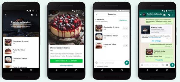 Whatsapp añade el carrito en las cuentas business, un paso más hacia el ecommerce en la red social