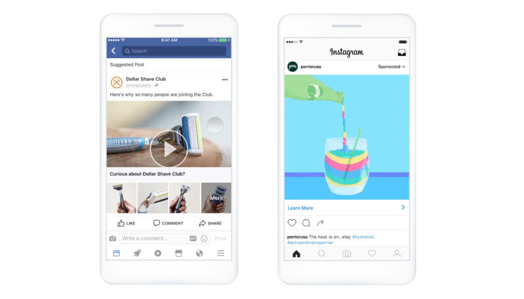 facebook ads instagram ads